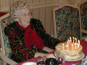 Mom's 95th Birthday Celebration