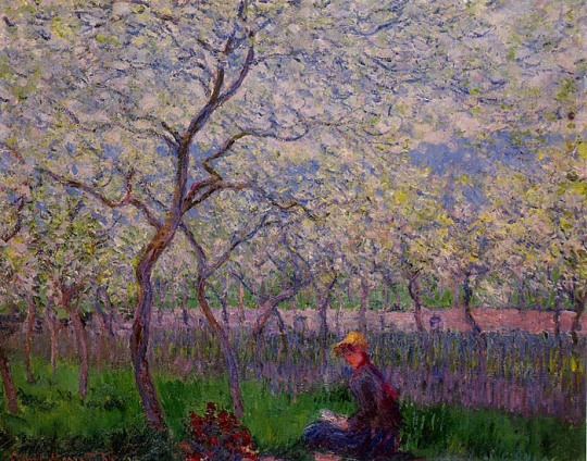 An Orchard in SpringClaude Monet 1886