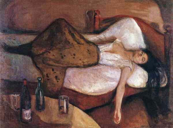 """The Day After"" by Edvard Munch 1895"