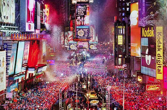 New year's Eve 1970s